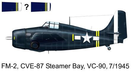 CVE Aircraft Markings 1945